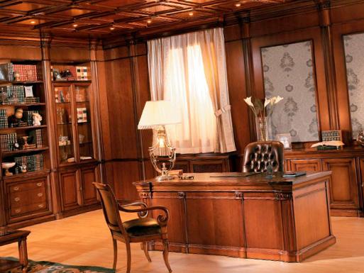 Кабинет в классическом стиле