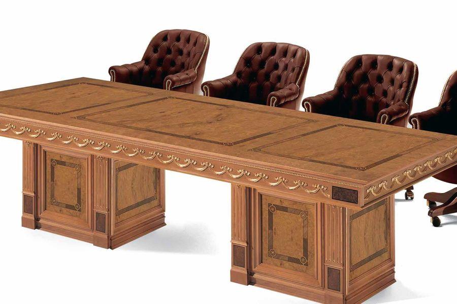 Стол для переговоров на заказ по эксклюзивному проекту и с индивидуальным дизайном